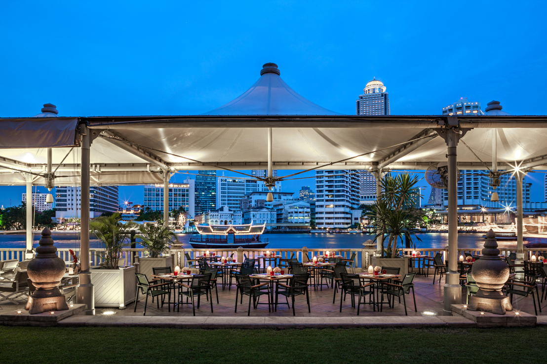 The Peninsula Bangkok,  The River Cafe & Terraza