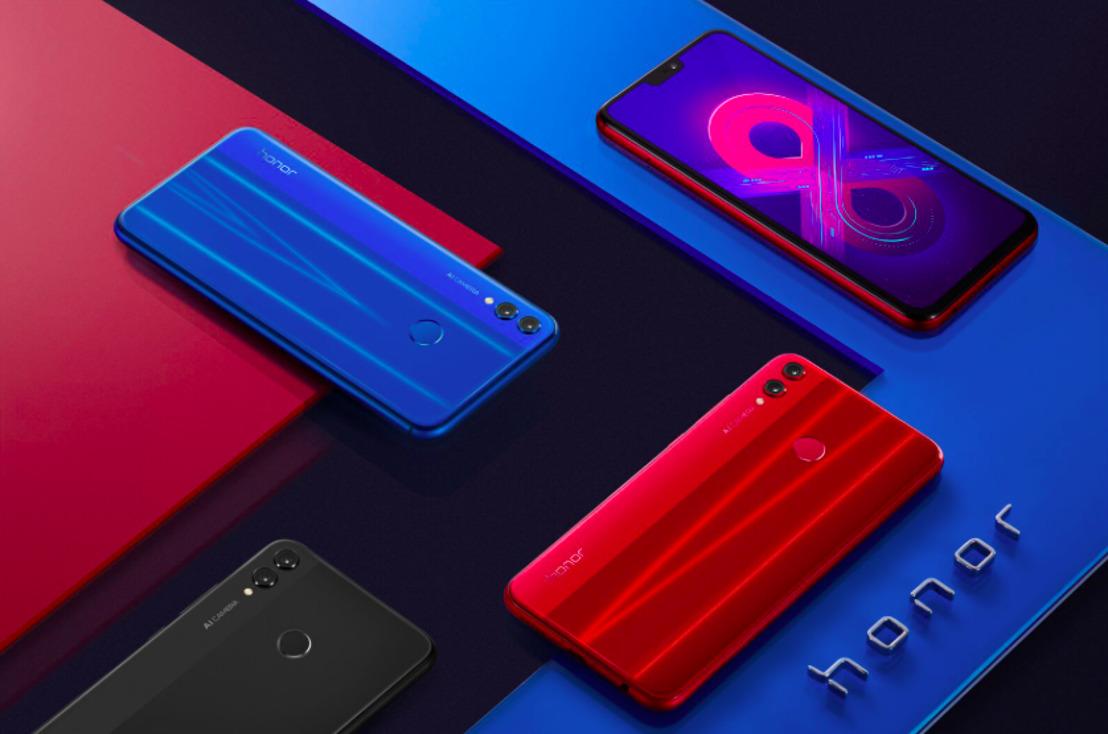 Honor onthult nieuwste best-in-class smartphone met lancering van de Honor 8X, nu beschikbaar in België
