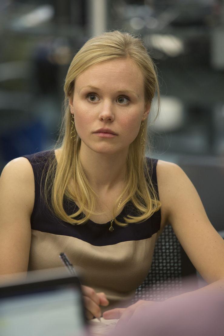 The Newsroom - Alison Pil (Margaret Jordan) - (c) VRT / HBO