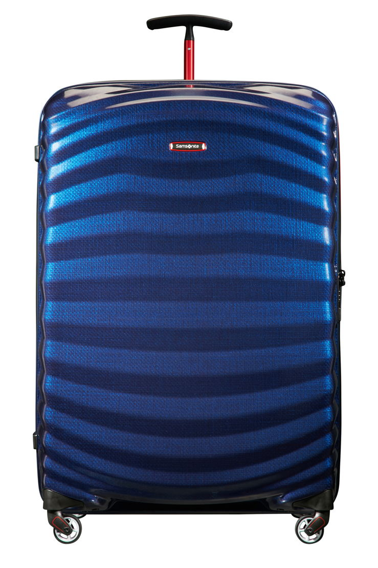 Samsonite_Lite-Shock Sport_Spinner 81-Nautical Blue/Red