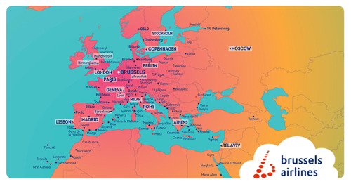 Brussels Airlines starts summer season with 26 new destinations