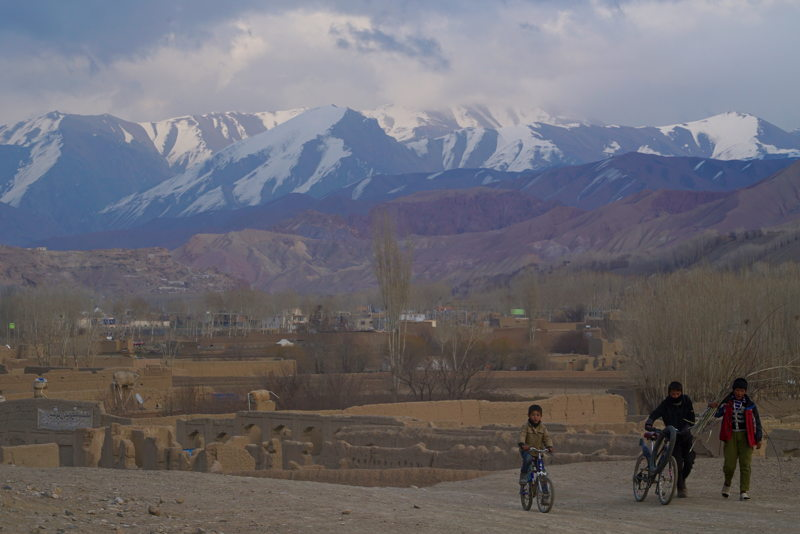 Bamiyan alps in Afghanistan