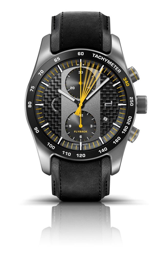 Así es el exclusivo reloj del 911 más potente y veloz: Porsche Design Chronograph 911 GT2 RS