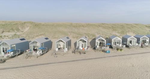Ook Strandhuisjes Julianadorp in Nederland door Roompot verhuurd vanaf 2021