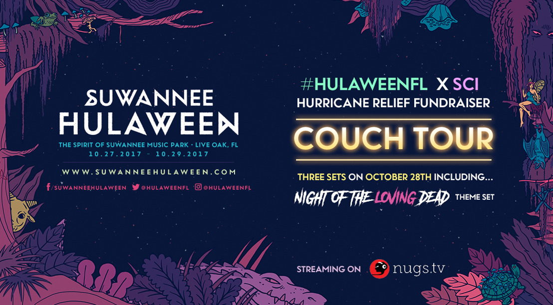 Suwannee Hulaween Announces Charitable Causes Around Sold Out 2017 Event