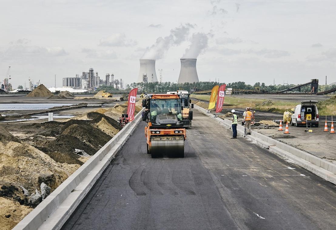 Port of Antwerp und Universität Antwerpen entwickeln Asphalt der Zukunft