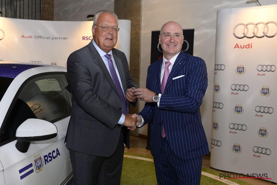 Roger vanden Stock - Didier Willems (Brand Director Audi)