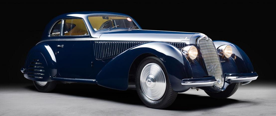 1938 Alfa Romeo 8C 2900B Berlinetta by Touring Chantilly Arts _ Elégance Richard Mille