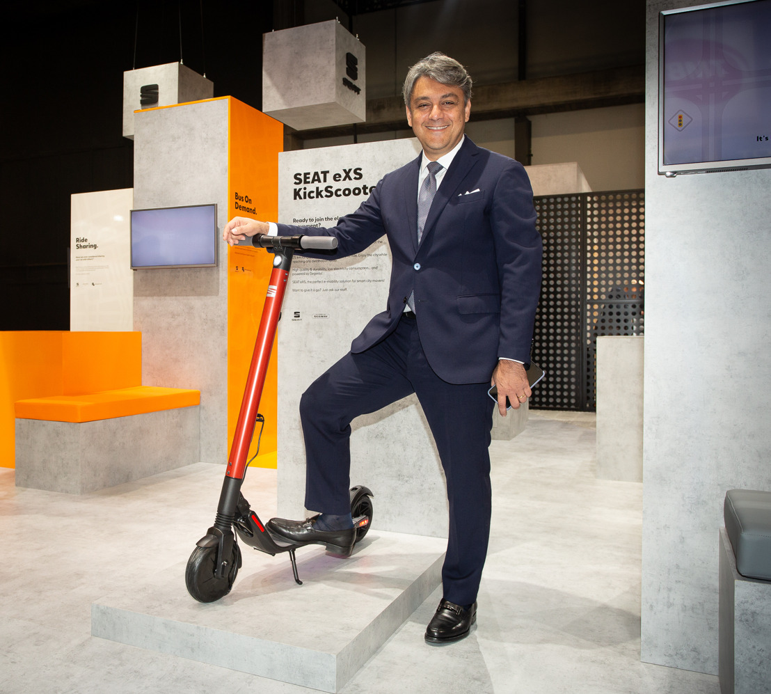 SEAT spreidt zijn potentieel tentoon in zijn streven naar een veiligere en efficiëntere mobiliteit