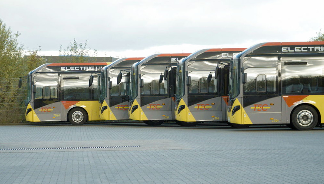 Bilan positif pour les bus hybrides namurois après un an d'exploitation