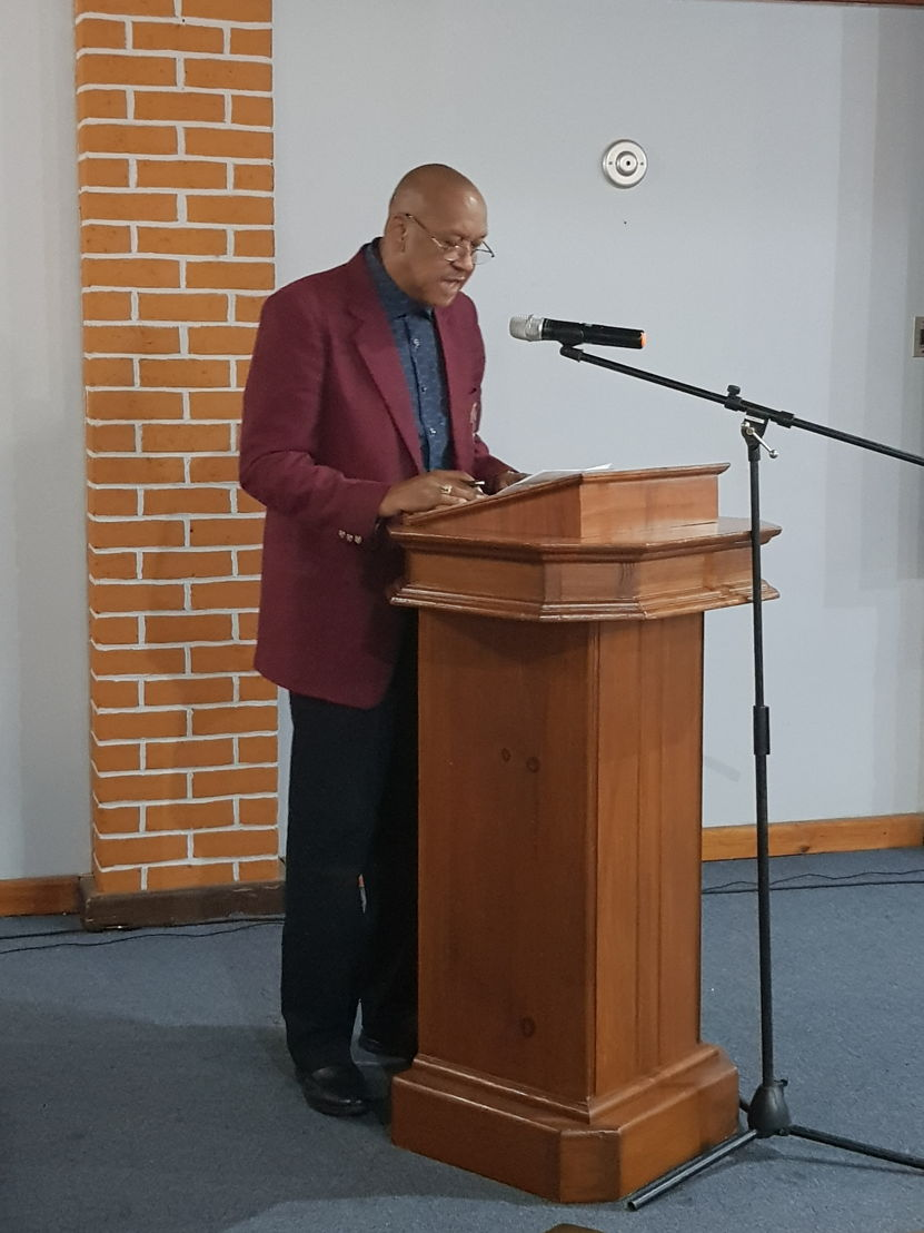 Billy Doctrove, President, Dominica National Olympic Committee.