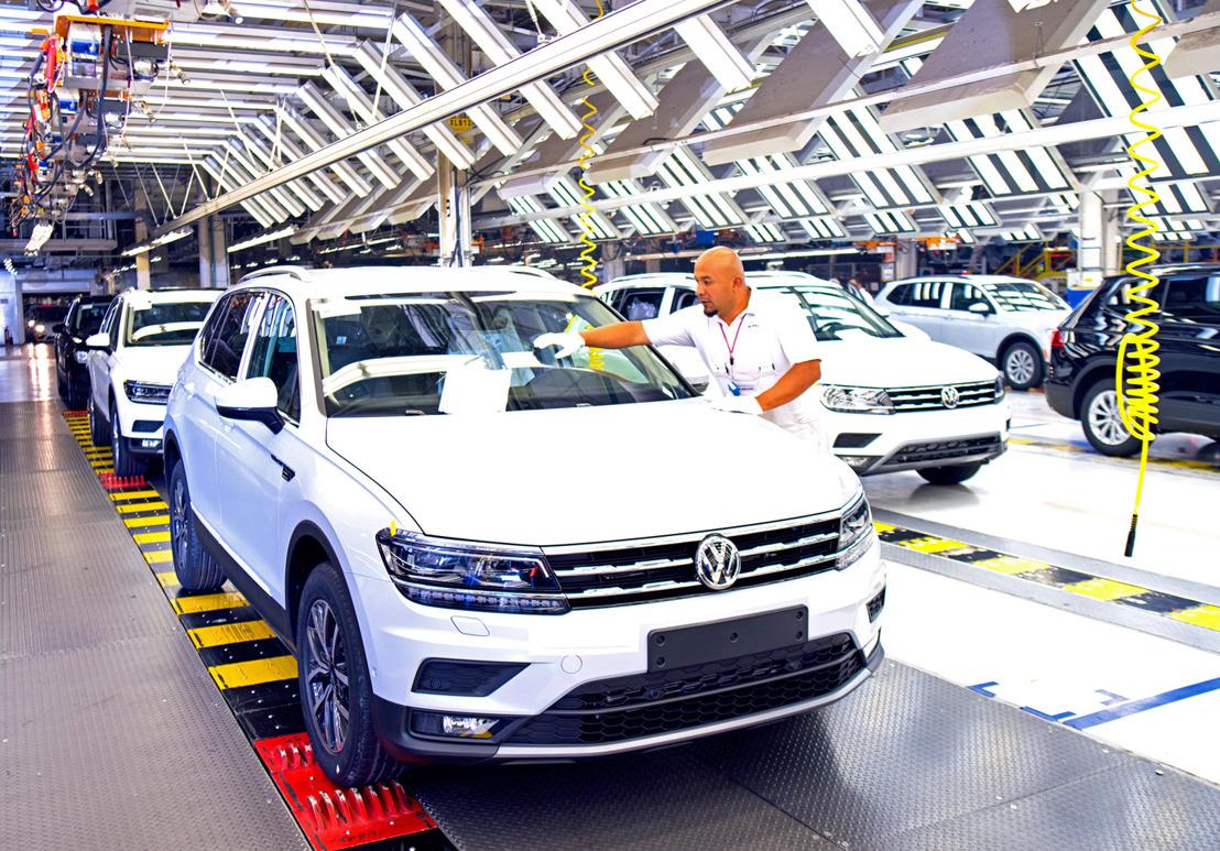 Volkswagen de México produce 250,000 unidades de Tiguan