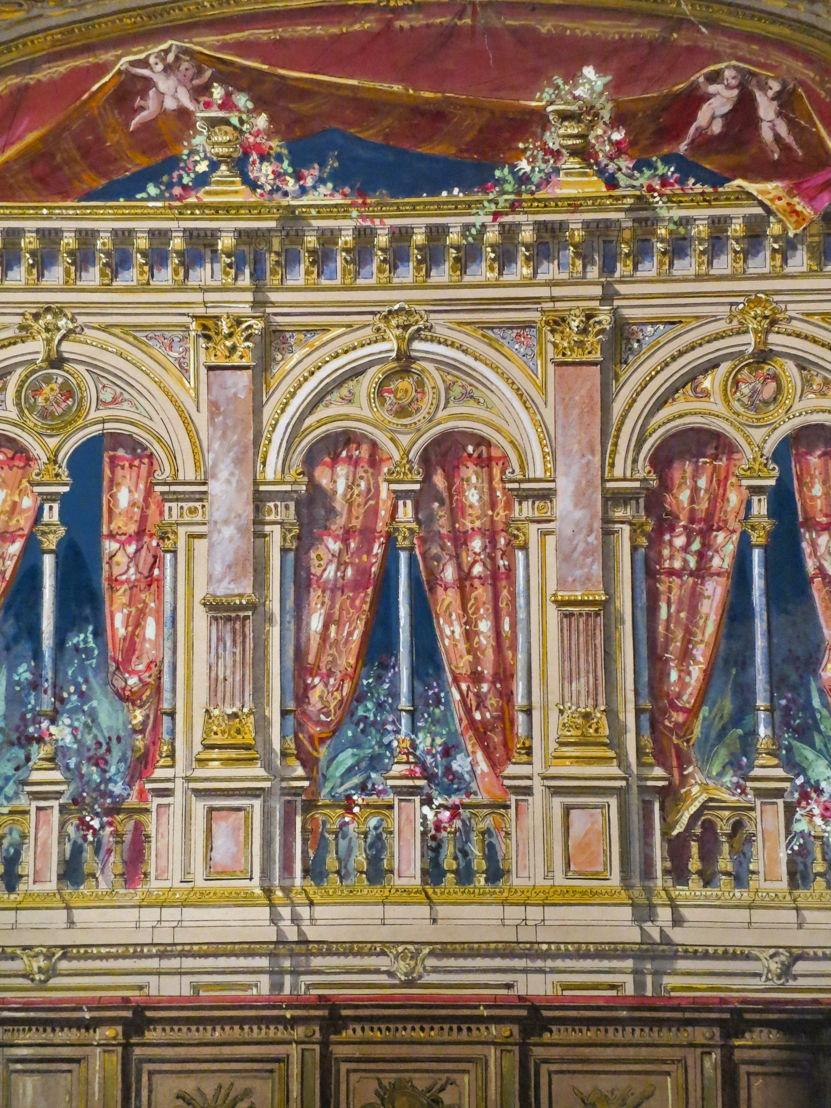 Plafond Koninklijke Muntschouwburg