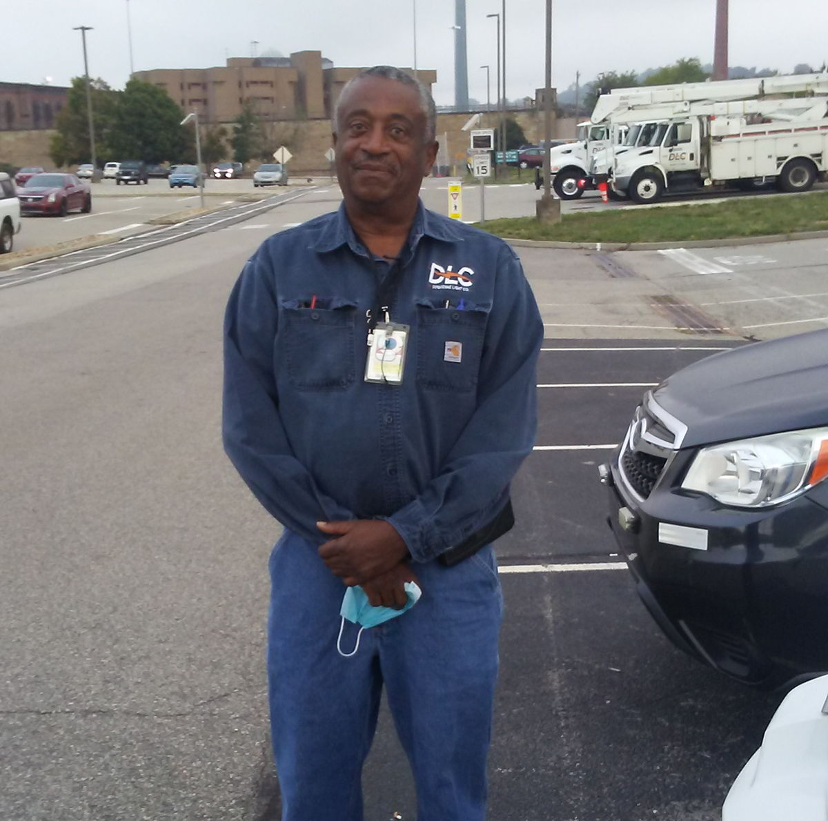 Ron Love, a mobile test technician at DLC, went above and beyond to help a customer resolve a safety issue.