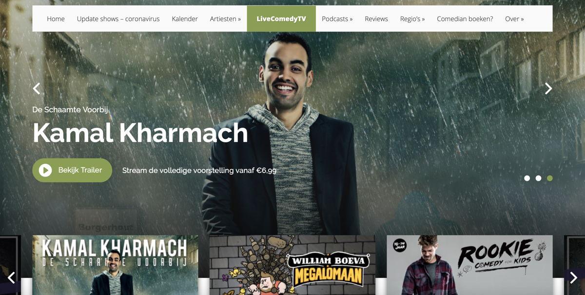 Screenshot LiveComedyTV - Kamal Kharmach