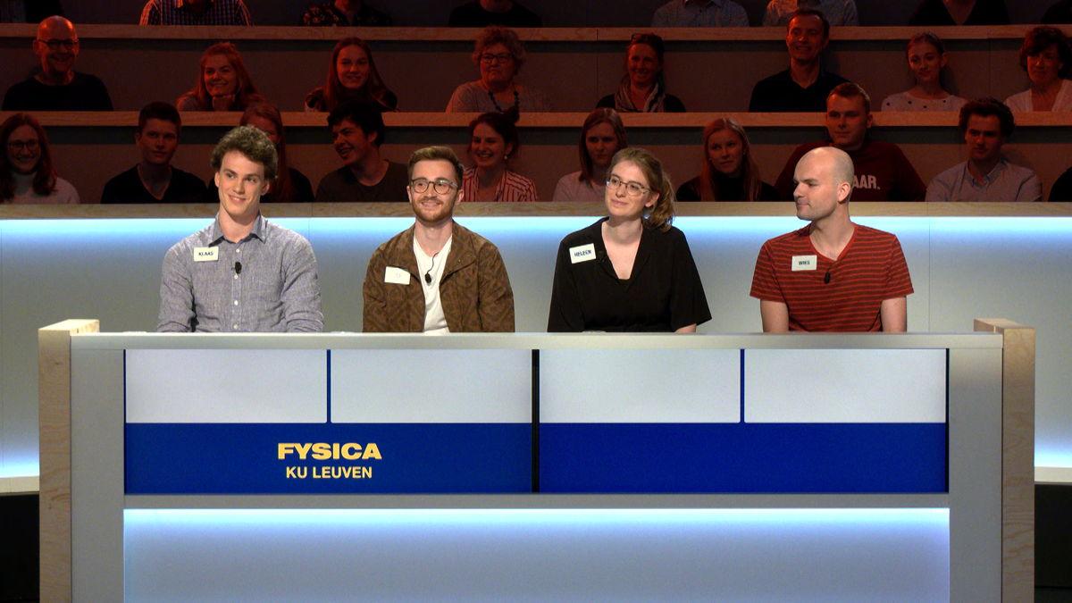Team Fysica KU Leuven (c) VRT / Woestijnvis