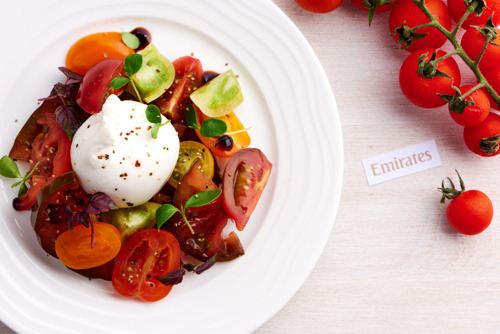 Emirates brings summertime zest to its menus