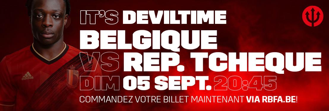 Les supporters des Diables Rouges accueillis à nouveau en masse dans le stade Roi Baudouin