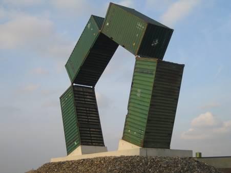 Renovatie kunstwerk Speybank in Gentse Kanaalzone
