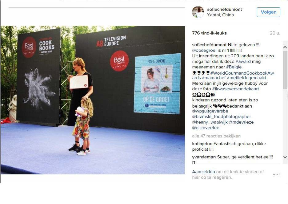 Instagram Sofie Dumont