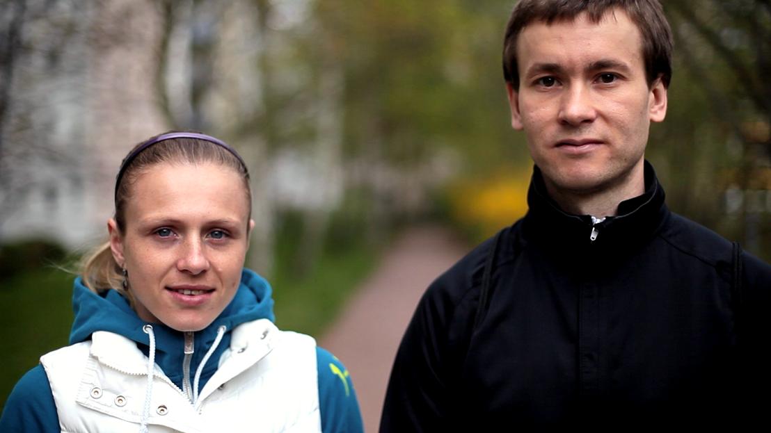 Yuliya and Vitaly Stepanov