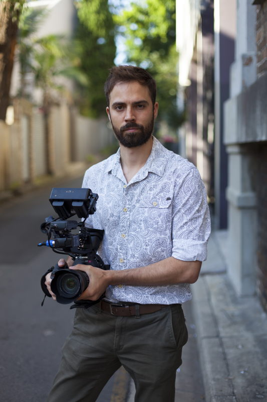 Story Hunters video journalist, Mike Clay