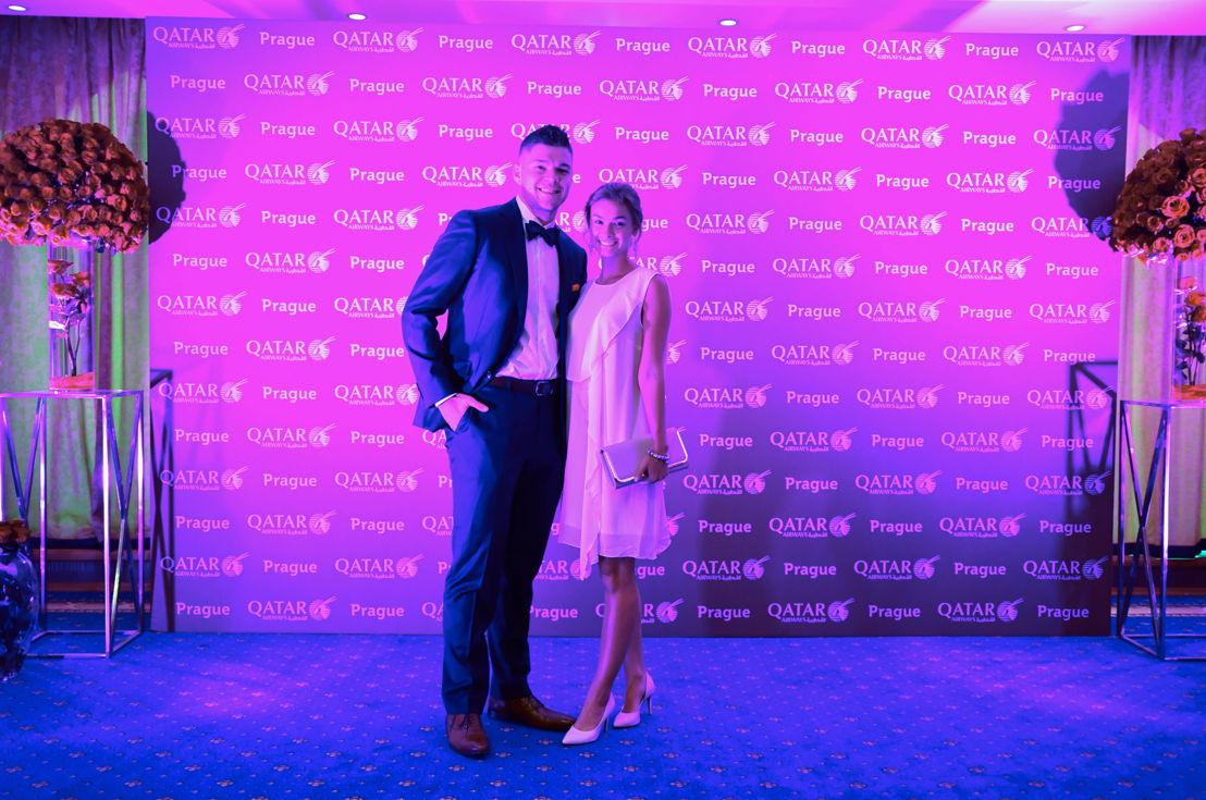 Tomáš Hertl s přítelkyní Anetou Netolickou