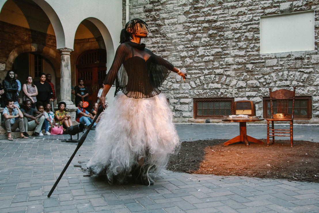 Sethembile Msezane<br/>Excerpts From the Past <br/>(2016)<br/>Performance<br/>ICA Live Art Festival<br/>Photo credit: Thandi Msebenzi