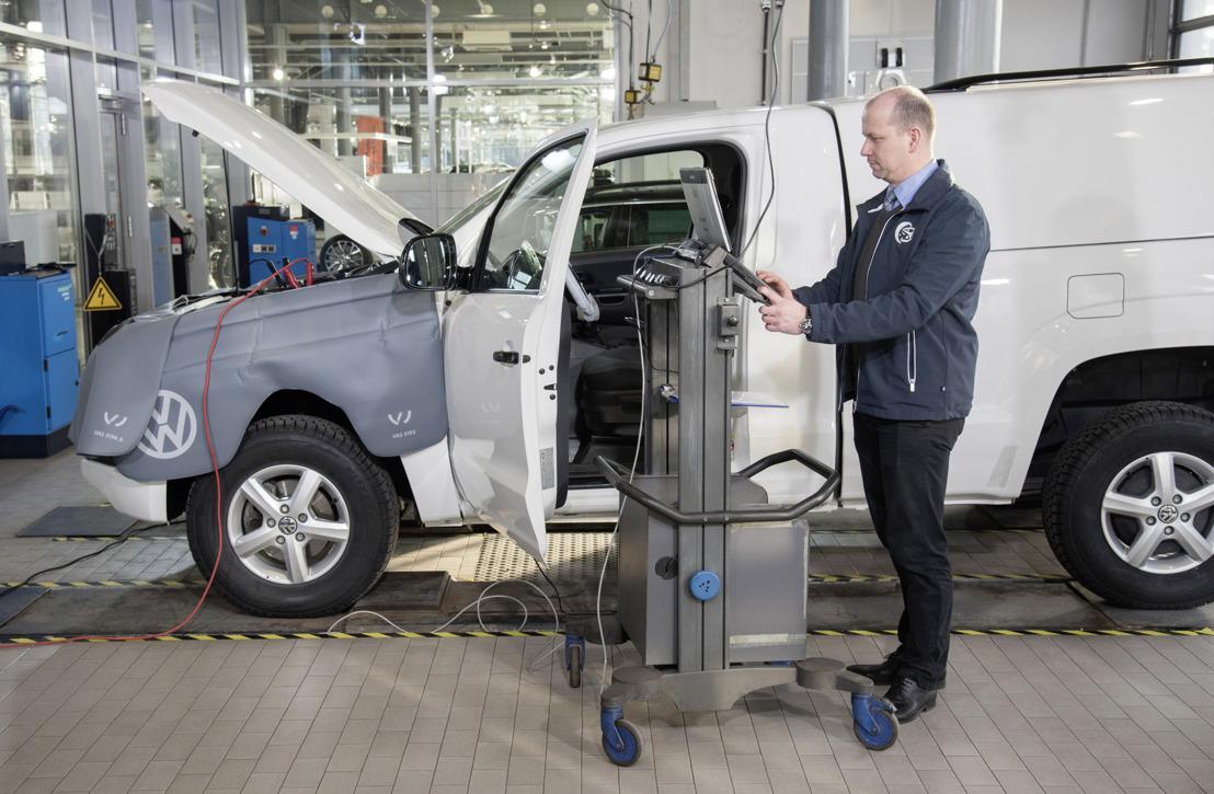 Dieselupdate-actie van Volkswagen verloopt zoals gepland