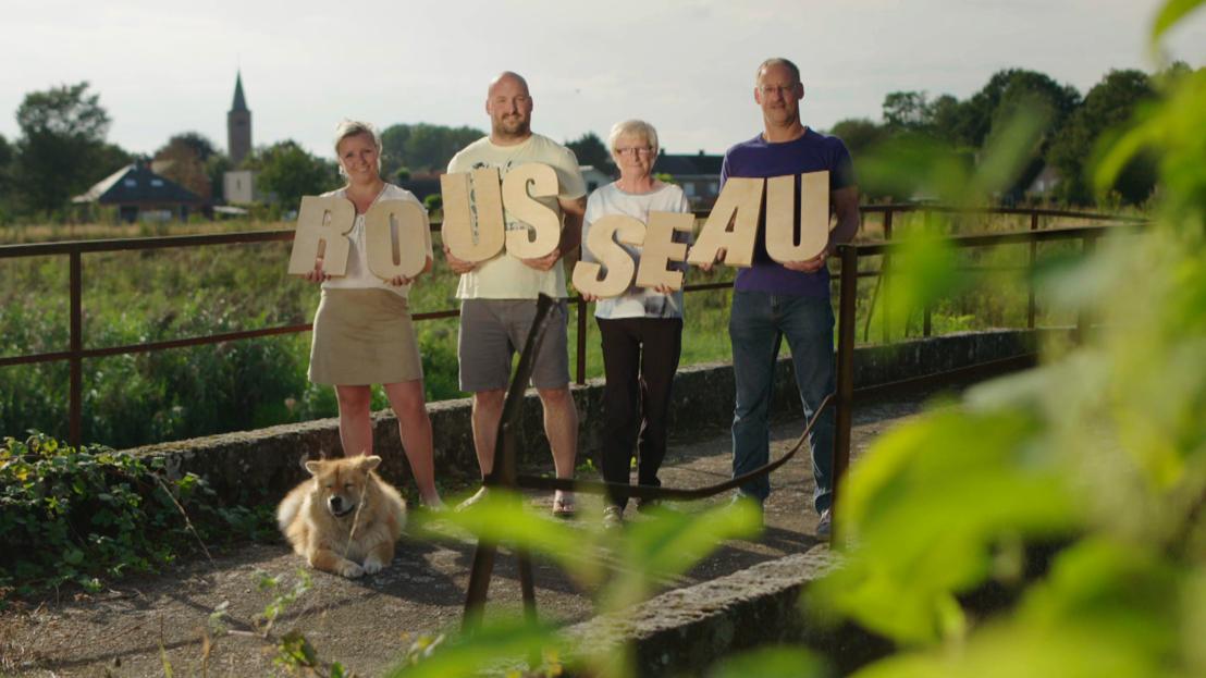 Familie Rousseau<br/>Sanne, Nick, Bert en Martine