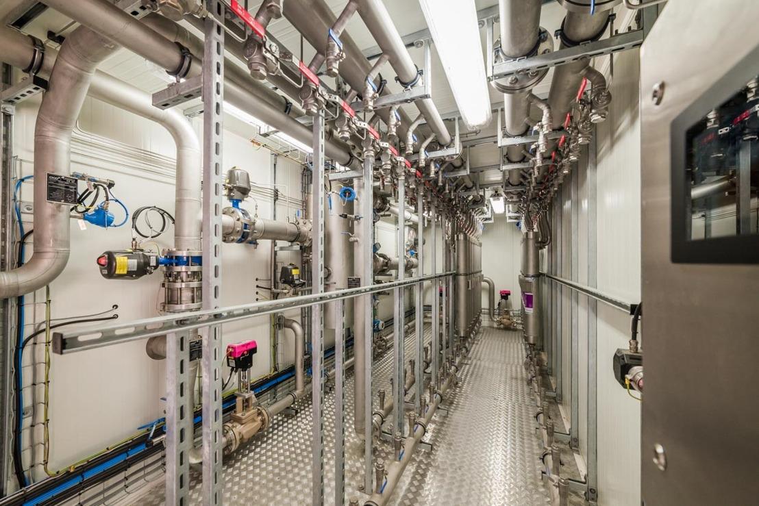 Première injection de gaz vert dans le réseau wallon