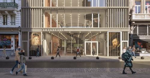 Das Rubenshaus kündigt seine Zukunftsvision mit einem neuen Empfangsgebäude von Robbrecht en Daem Architekten an