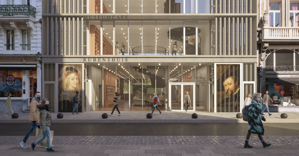 Preview: Rubens House announces future vision with new reception building by Robbrecht and Daem Architects