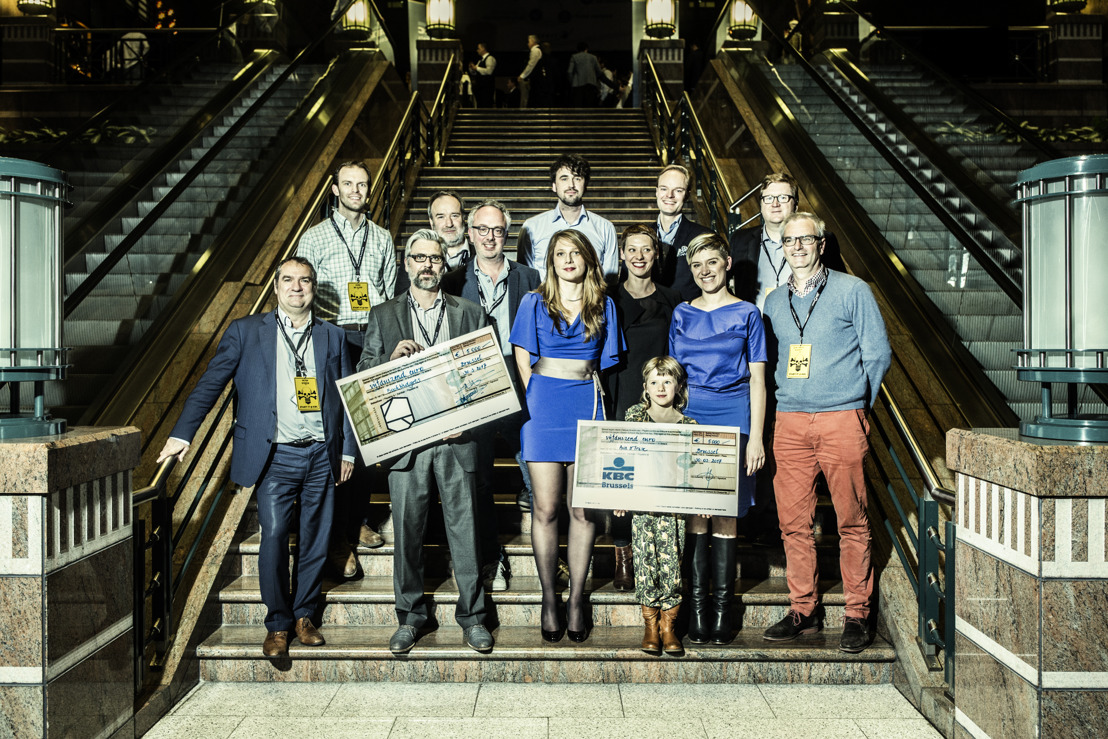 Start-up BookWidgets remporte le Start it @kbc Award lors du Demo Day