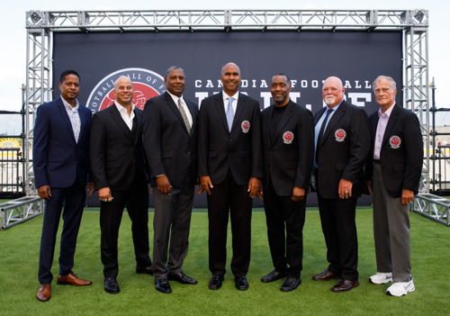 PHOTO RELEASE: 2019 CANADIAN FOOTBALL HALL OF FAME INDUCTION CEREMONY