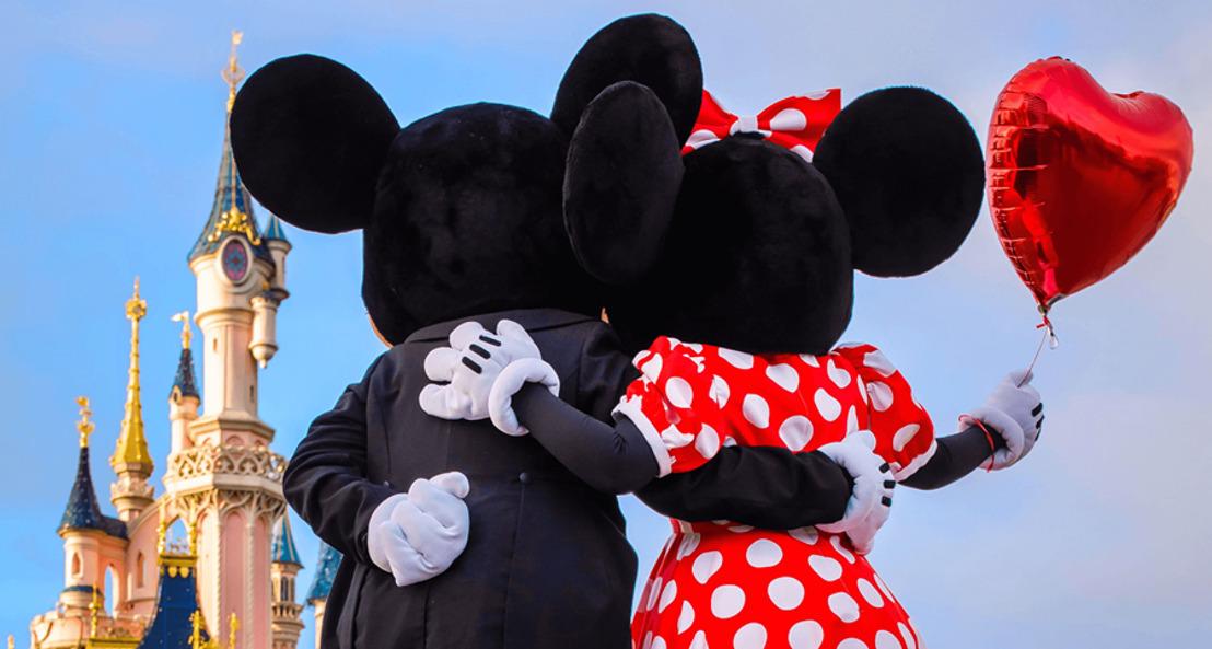 7 Manieren om de liefde te vieren op Valentijnsdag in Disneyland® Paris
