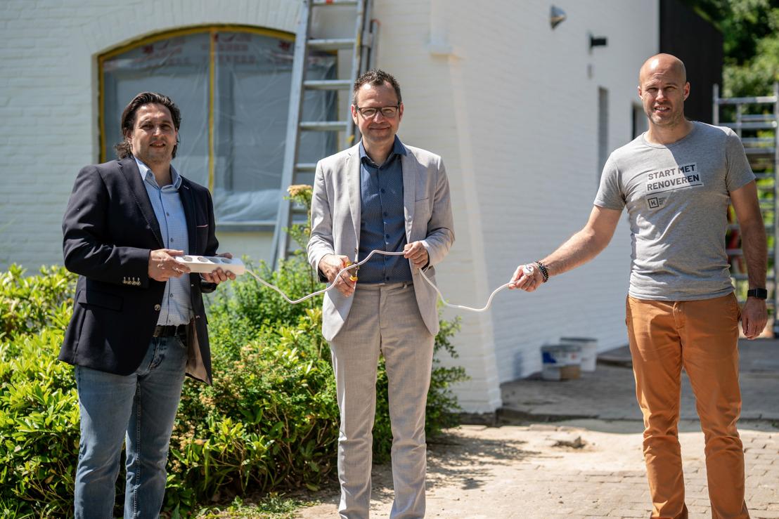 La plus grande vague de rénovation jamais vue en Flandre : Befutura et la ville de Hasselt offrent une aide à la rénovation complète et sur mesure à 3 000 ménages