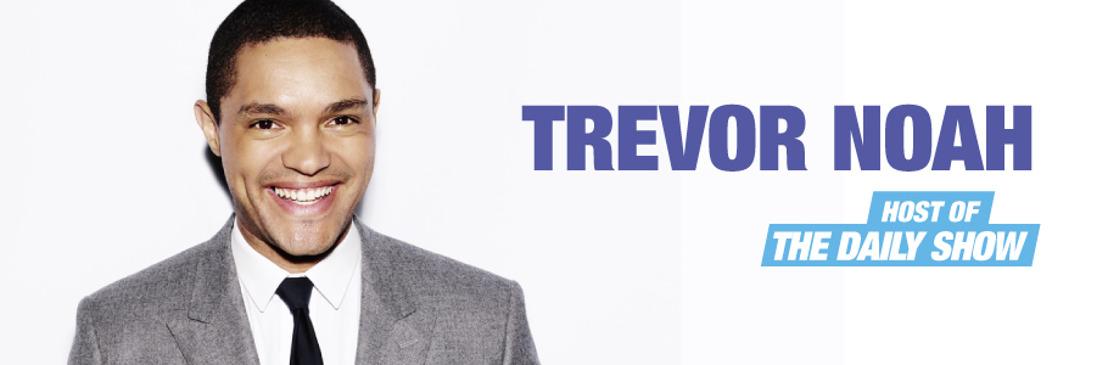 Trevor Noah komt naar België