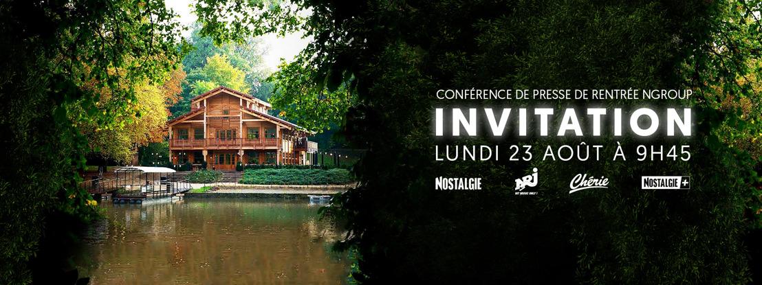 Invitation Presse : Conférence de presse NGroup du 23 août.