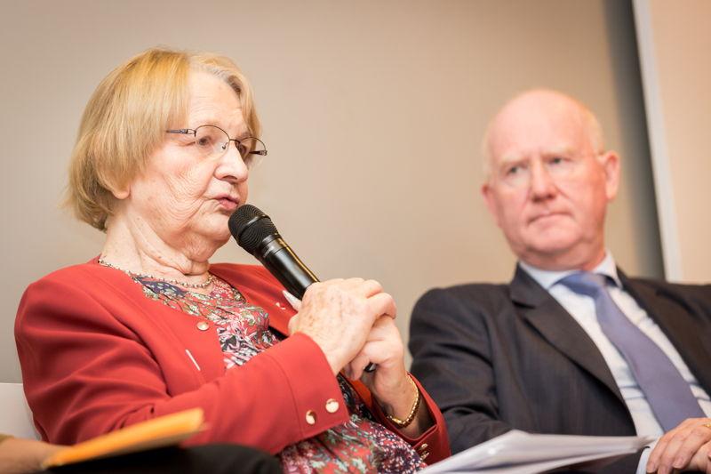Maria Nowak (Adie) & Max Jadot (BNP Paribas Fortis)