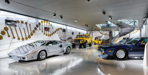 The Lamborghini Museum reopens its doors to the public The new Sián Roadster on display until 12 July
