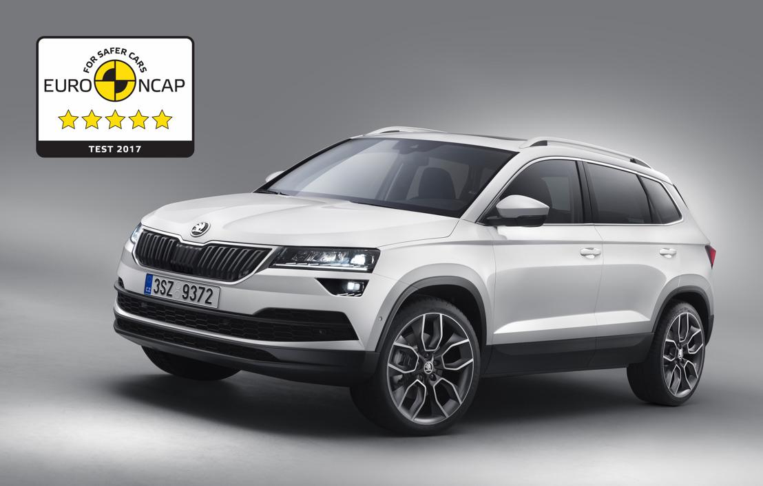 ŠKODA KAROQ receives five stars in Euro NCAP Test