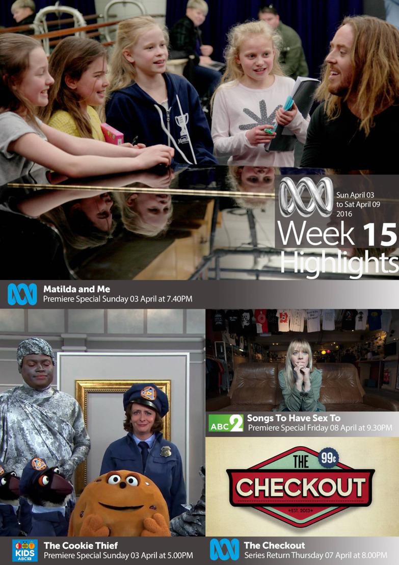 ABC TV Highlights - Week 15