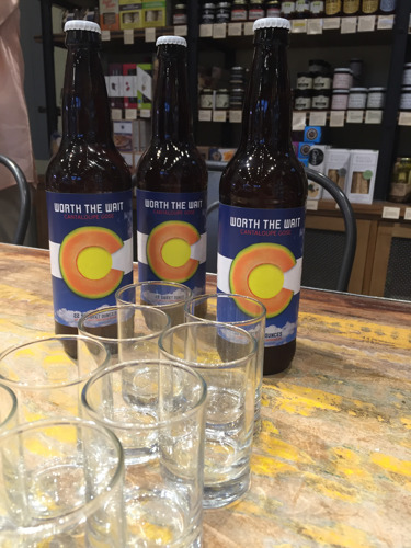 Hirakata Farms releases Worth the Wait Cantaloupe Gose beer to toast end of the 2016 Rocky Ford Cantaloupe™ season
