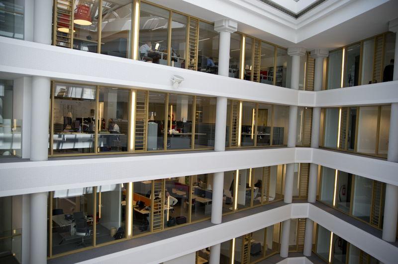 Het hoofdkantoor van de MIVB