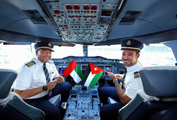 The Emirates A380 ventures to Amman and Boston