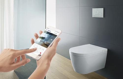 Perfecte hygiëne dankzij de nieuwe generatie toiletten van DURAVIT SensoWash®