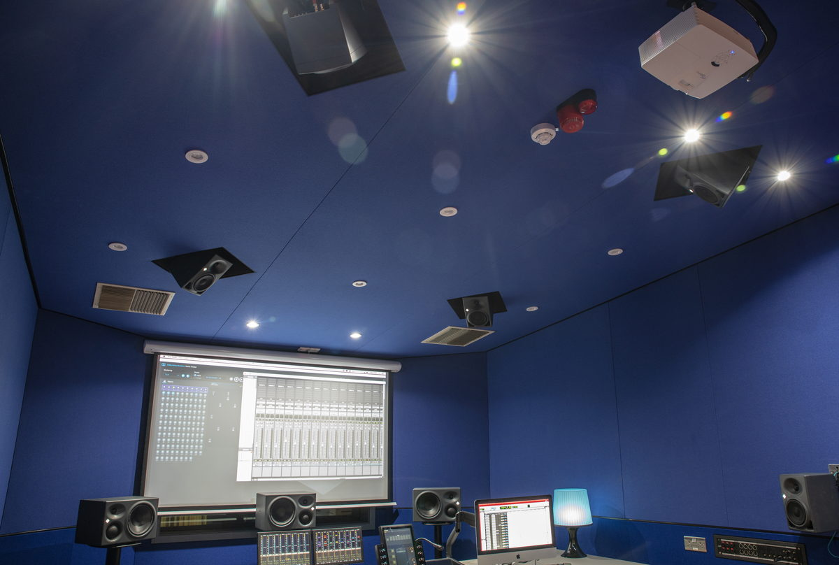 The new 7.1.4 Atmos studio was the first of the new facilities to be completed in January