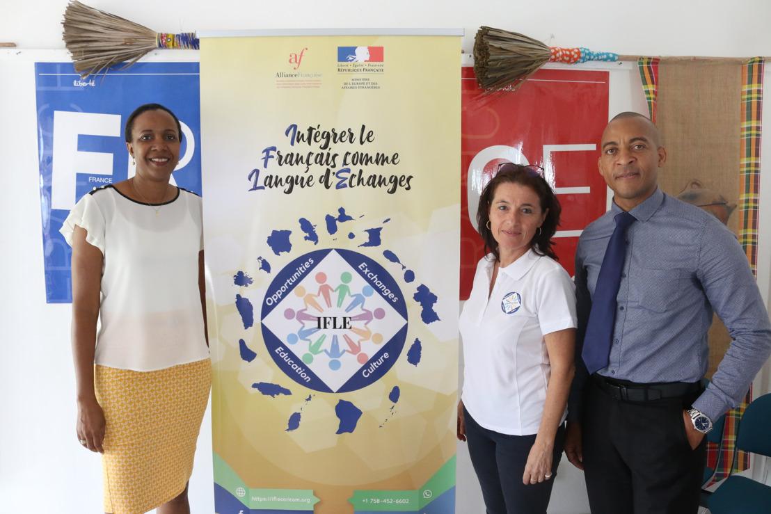 L'O.E.C.O et l'Alliance Française de Sainte-Lucie partenaires du nouveau programme de coopération IFLE Caricom