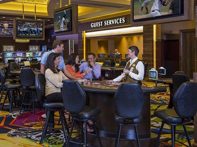 Enjoy table games at Monarch Casino Resort Spa
